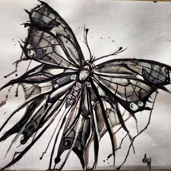 Dear Black Butterfly. Dear Me.